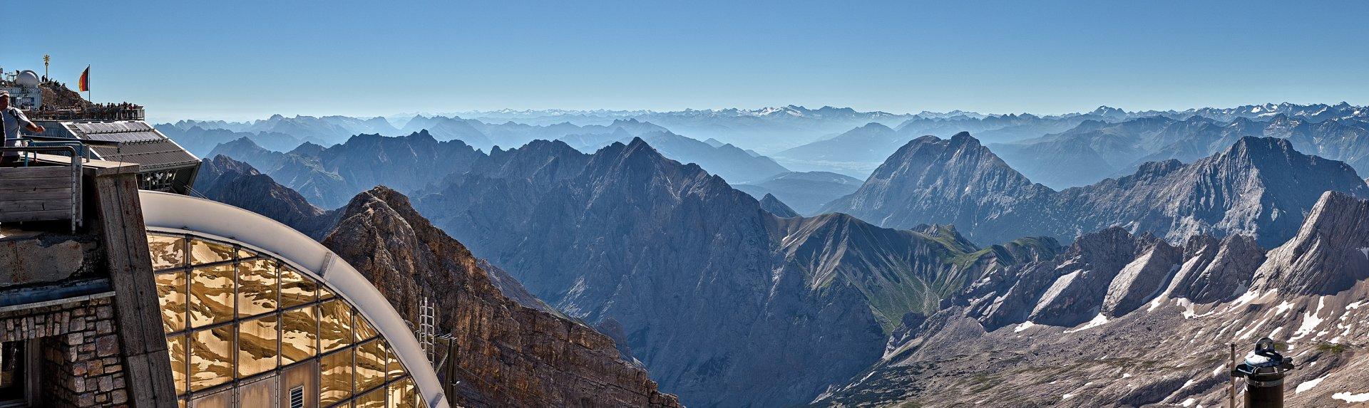 Zugspitze Panorama Bilder-Galerie ★ Tir...